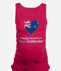 Happily Married New Zealander Maternity Tank Top