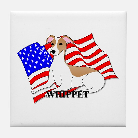 Whippet USA Tile Coaster