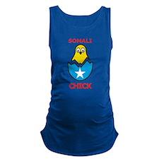 Somali Chick Maternity Tank Top