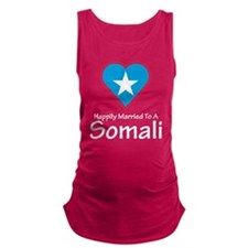 Happily Married Somali Maternity Tank Top