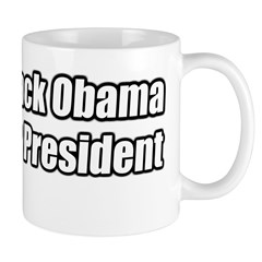 Barack Obama for President Mug