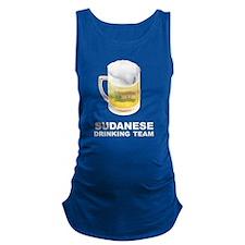 Sudanese Drinking Team Maternity Tank Top