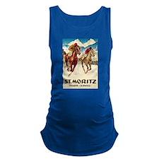 St. Moritz Engadin Schweiz Maternity Tank Top