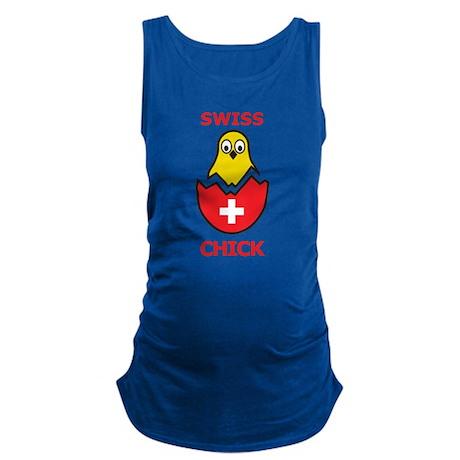 Swiss Chick Maternity Tank Top