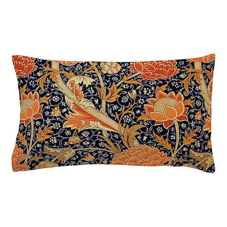 William Morris Cray Design Pillow Case