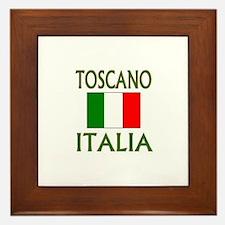 Toscano, Italia Framed Tile