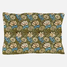 Morris Chrysanthemums with Repeats Pillow Case
