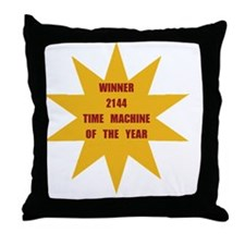 Time Machine Of The Year 2144 Throw Pillow