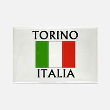Torino, Italia Rectangle Magnet