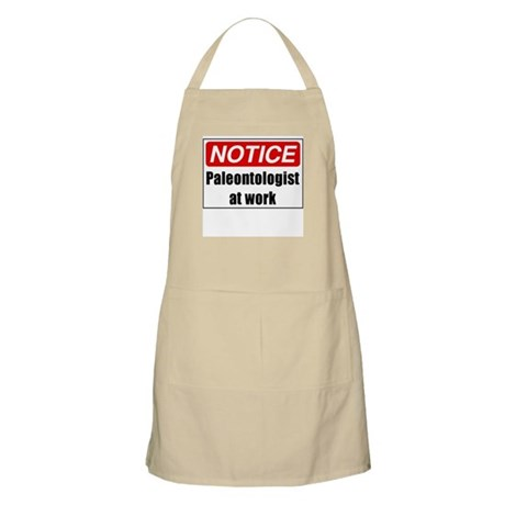 Paleontologist at Work BBQ Apron