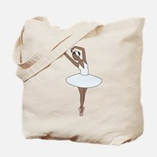 Ballet Dancing Tote Bag