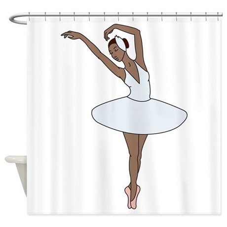 Ballet Dancing Shower Curtain by Hopscotch1