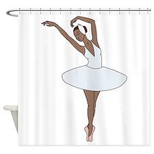 Ballet Dancing Shower Curtain