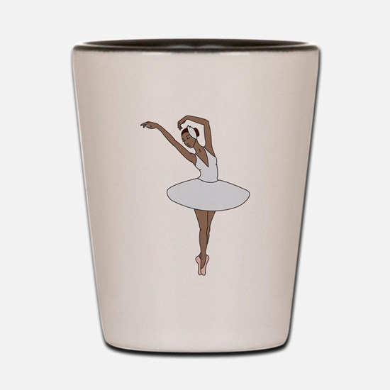 Ballet Dancing Shot Glass