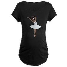 Ballet Dancing Maternity T-Shirt