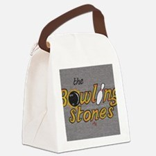 The Bowling Stones Canvas Lunch Bag