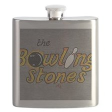 The Bowling Stones Flask