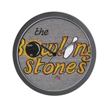 The Bowling Stones Wall Clock