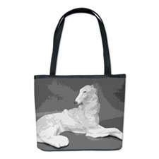 Borzoi Lounging Bucket Bag