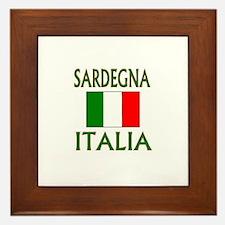 Sardegna, Italia Framed Tile