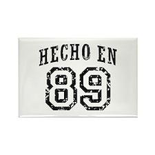 Hecho En 89 Rectangle Magnet