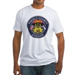 Pueblo Sheriff Fitted T-Shirt