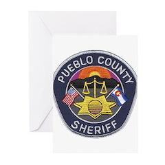 Pueblo Sheriff Greeting Cards (Pk of 10)