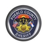 Pueblo Sheriff Wall Clock
