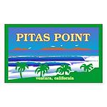 PITAS POINT Rectangle Sticker