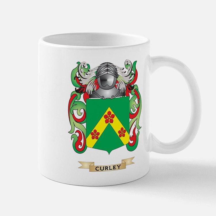Curley Coat of Arms Mug