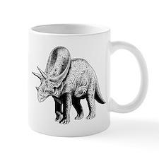 Triceratops Paleontologist at Work Mug