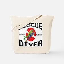 Rescue SCUBA Diver Tote Bag