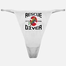 Rescue SCUBA Diver Classic Thong
