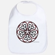 Celtic Heart Pentacle3 Bib