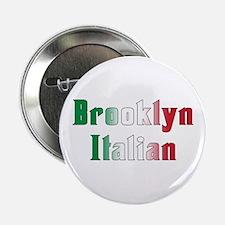 Brooklyn New York Italian Button