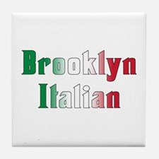 Brooklyn New York Italian Tile Coaster