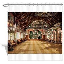 Neuschwanstein_singers_hall Shower Curtain