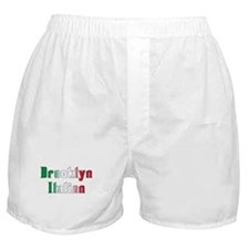 Brooklyn New York Italian Boxer Shorts