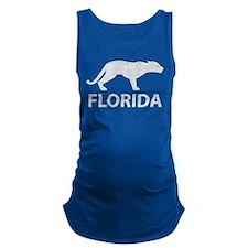 Florida Panther Maternity Tank Top