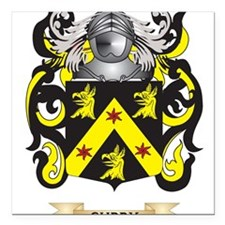 """Curry Coat of Arms Square Car Magnet 3"""" x 3"""""""
