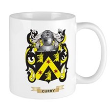 Curry Coat of Arms Small Mugs