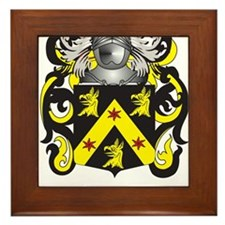 Curry Coat of Arms Framed Tile