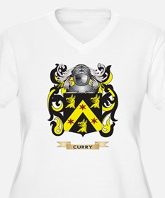 Curry Coat of Arms Plus Size T-Shirt