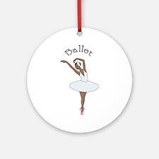 Ballet Ornament (Round)