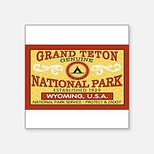 Grand Teton National Park Rectangle Sticker