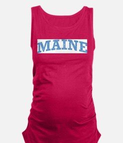 Vintage Maine Maternity Tank Top