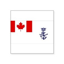 Naval Jack of Canada Sticker