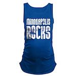 Minneapolis Rocks Maternity Tank Top