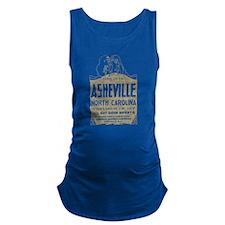 Vintage Asheville Maternity Tank Top