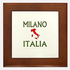Milano, Italia Framed Tile